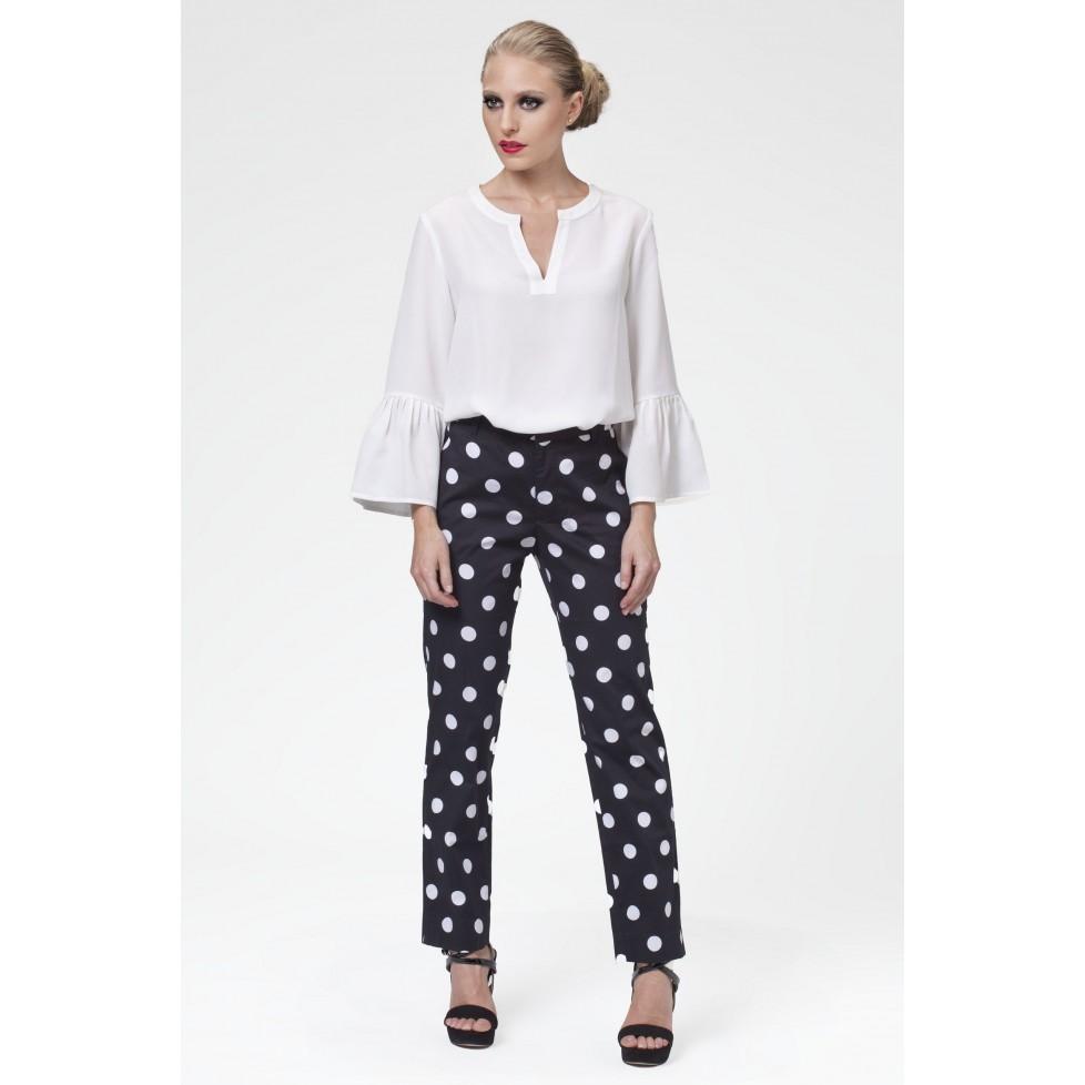 comprar popular be807 ac1b5 49202 - Pantalón lunares